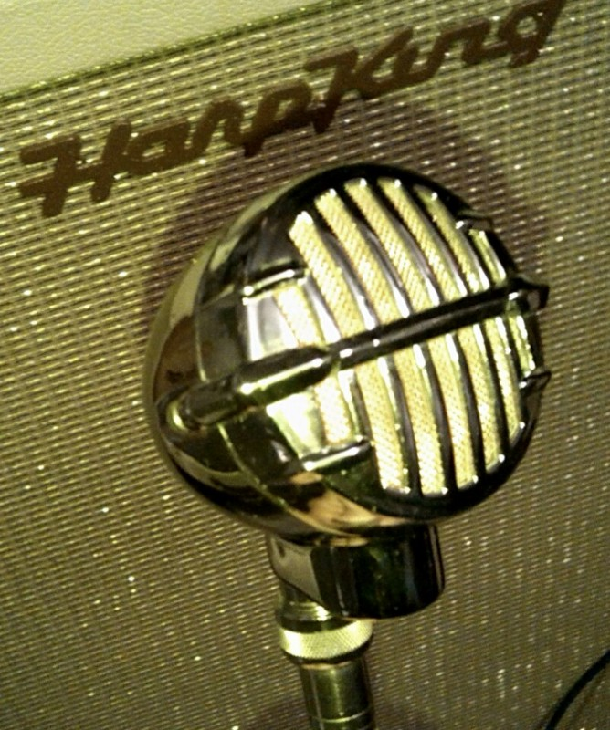 Mijn customized JT 30 met shure cr white 1963